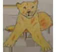 Lion ##STADE## - robe 16023